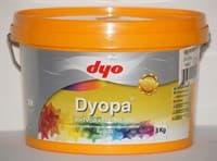 Краска водоэмульсионная DYOPA матовая белая, 7,5л (10кг)