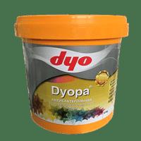 Краска водоэмульсионная DYOPA матовая белая, 3кг