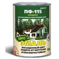 Эмаль FARBITEX ПФ-115 оранжевая 0,9кг