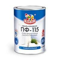 Эмаль OLECOLOR ПФ-115 вишневая 2,7кг