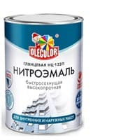 Эмаль OLECOLOR НЦ-132 белая 0,7кг