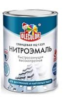 Эмаль OLECOLOR НЦ-132 красная 1,7кг