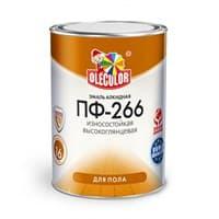 Эмаль OLECOLOR ПФ-266 для пола желто-коричневая 2,7кг
