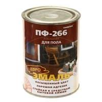 Эмаль FARBITEX ПФ-266 алкидная красно-коричневая 2.7кг