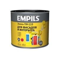 Эмаль EMPILS ПФ-115 Эконом красная 20кг