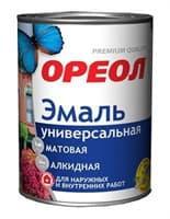 Эмаль ОРЕОЛ глянц. черная (пластик) 2.5 кг 02349-04