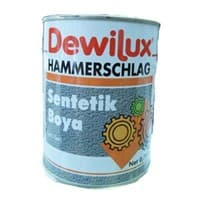 Эмаль молотковая DEWILUX серебристо-серая, 2,5л 7012