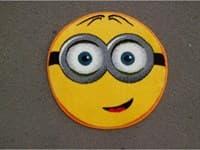 Ковры KARAT Kolibri Smile 0,67*,67 11086/150 овальный