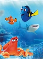 Фотообои KOMAR 184*254см 4-446 Dory and Friends