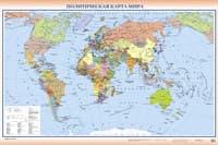 Обои PHOTO DECOR Карта Мира 499 3*2м