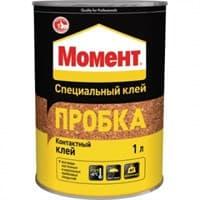 Клей MOMENT пробка 1л 805035