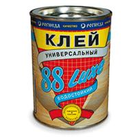 Клей РОГНЕДА 88-LUXE универсальный влагостойкий 0,9л