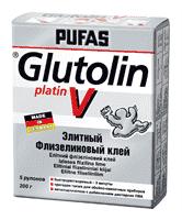 Клей PUFAS GLUTOLIN V Platin instant Элитный флизелиновый 25x200 гр