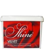 Штукатурка декоративная SHINE Velvet 6 2кг