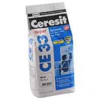 Затирка CERESIT CE33 2кг серая