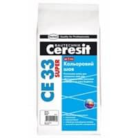 Затирка CERESIT CE33 5кг белая