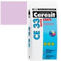Затирка CERESIT CE33 SUPER 2кг Лаванда