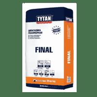 Шпаклевка TYTAN финишная полимерная FINAL (25кг) IKZB000062