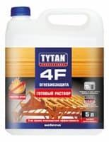 Огнебиозащита (готовый раствор) TYTAN 4F 5л
