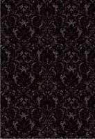 Плитка КЕРАМИН облицовочная Органза 5Т 400*275 черн. 59,4 (1,65)