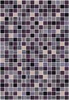 Плитка КЕРАМИН облицовочная Гламур 4Т ежевичный 400*275 59,4 кв.м (1,65) КТ-00001090