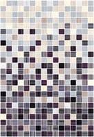 Плитка КЕРАМИН облицовочная Гламур 4С микс ежевичный 400*275 59,4 кв.м (1,65) КТ-00001089