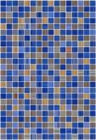 Плитка КЕРАМИН облицовочная Гламур 400*275 2Т синий (1,65) КТ-00001077