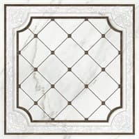 Вставка CERSANIT напольная Capella белый 1c 42*42 арт. CP6R052DT