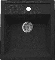 Мойка ГРАНИКОМ модель G-021 антрацит (503*460)