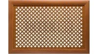 Экран для радиатора Стандарт рамка Gotico вишня 570х1170мм
