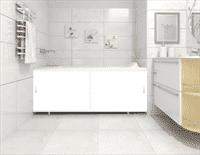 Экран для ванны 1,5м арт.1 белый