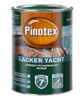 Лак PINOTEX Lacker Yacht 40 (полуматовый) 1л 5255403