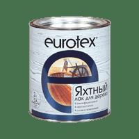 Лак РОГНЕДА EUROTEX яхтный полуматовый 0,75л