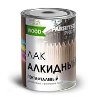 Лак алкидный пентафталевый высокоглянцевый FARBITEX ПРОФИ WOOD (0.9л)