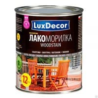 Лакоморилка LUX DECOR для древесины кедр 0,75л