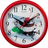 Часы настенные САЛЮТ Вишенка ПЕ-Б1-201