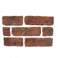 Камень декоративный Кирпич Старый Красный DeKam 1027099