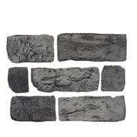 Камень декоративный Кирпич Старый Серый DeKam 1027091