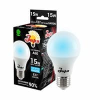 Лампа светодиодная ЗАРЯ А60 А3 15W E27 6000/6500K(станд)