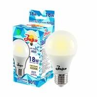 Лампа светодиодная ЗАРЯ А60 А3 18W E27 4000-4200K(эконом)