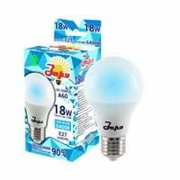 Лампа светодиодная ЗАРЯ А60 А3 18W E27 6400-6500K(эконом)