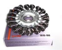 Щетка ЭКСПЕРТ дисковая для УШМ диаметр 100мм 1615-100