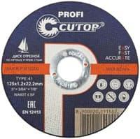 Диск отрезной FIT по металлу профессиональный Т41-125*1,2*22,2 Cutop 39980т