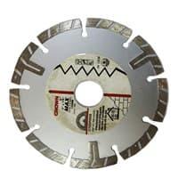 Диск CROWN алмазный турбо канал СТDDP0050 d 125*22,2мм