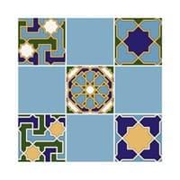 Плитка UNITILE мозаика Багдад синий верх 02 300*300 (98*98) (1-й сорт)