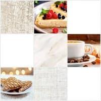 Плитка UNITILE мозаика Десерт светлый микс верх 03 300*300 (98*98) (1-й сорт)