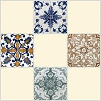 Плитка UNITILE мозаика Тенерифе светло-бежевый верх 01 300*300 (98*98) (1-й сорт)