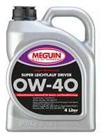 Моторное масло синтетическое Motorenoel Super Leichtlauf DRIVER SAE 0W-40 (4л) 9065