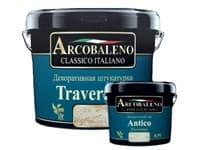 Штукатурка декоративная Arcobaleno Travertino 25кг