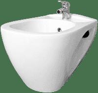 Биде консольное ТРИНО керамическое белое 1с
